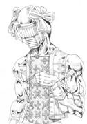 アイマス 春香さんのスタンドを描いてみた