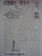 文々。新聞 (第八号)