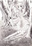 帰らぬ森の凍れる妖精