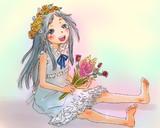 30分でお題の絵を描く【あの花:めんま】