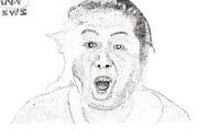 騒音おばさん 点描画
