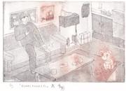 【銅版画】ネジの部屋