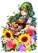 四季と小麦のフラワーマスター幽香ちゃん!
