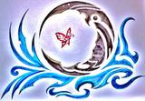 ニコ生にて 「醜い月と赤い蝶」