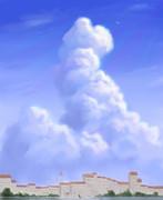 ヴェネツィアの夏空
