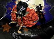 鬼子さん、黒金蟲さんと闘ってみる。