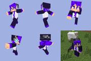 Pants Styleなデフォ子さんスキン[Minecraft]