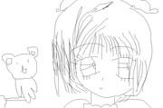 (絵チャ)木之本桜+ケロちゃん