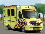 海外の救急車