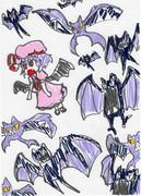 レミリア+蝙蝠ポケモン