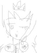 (絵チャ)ピーチ姫