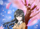 春ということで、桜!入学!おっぱi((((