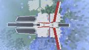 【Minecraft】ネェル・アーガマ作ってみた【完成その1】