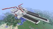 【Minecraft】ネェル・アーガマ作ってみた【完成その2】