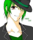 【実況者様】Free Cat【マウスで描いてみた】