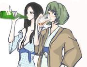 志乃さんと楓さんと酒