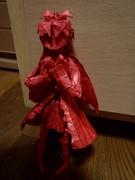 折り紙で佐倉杏子を折ってみたなり