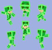【Minecraft】スライムパーカー