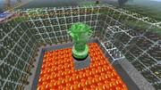 「minecraft」クリーパーケーキ