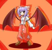 レミリア(妹紅コス)