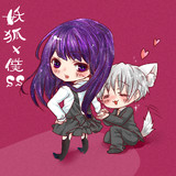 妖狐×僕SS in デフォルメver凜々蝶と双熾