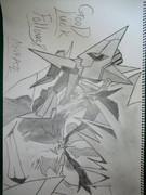 キングキタン。本気で描いてみたらなんかこうなった。完成。