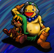 【ゼルダの伝説ムジュラの仮面より】デクリンクとゴロンリンク