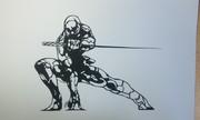 【切り絵】サイボーグ忍者