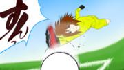 【FootBall×けいおん!!】 唯はGKが似合うらしい 【汚絵描き】