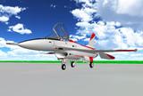 XF-2試作一号機ロールアウト