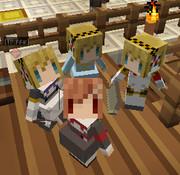 【Minecraft】littleMaidMobでハム子とアイギス