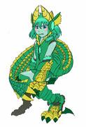 【MHP3】ジンオウガ擬人機械化娘ちゃん