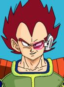 フリーザ軍 上級兵士ベジータ(アニメ版初期カラー)