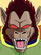 フリーザ軍 上級兵士ベジータ(大猿)(アニメ版初期カラー)