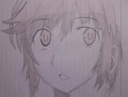 梨穂子を描いてみた