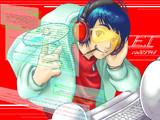 【描いてみた】アニソンDJ生主☆モモイスト-ET-【うあばぁ】
