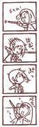 """【4コマ】りっぷう""""ぁーんとあーかーど【HELLSING】"""