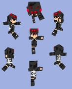 【Minecraft】スパイダーパーカー