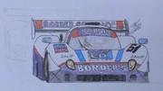 東方レーシング2012 ジャガーXJR-8スプリント '87 八雲レーシング