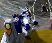 プリティーにかっこいい(略)「どちらにせよ同じことだ、鋼蒼竜の力を見るがいい!」