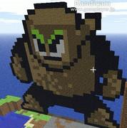 【Minecraft】ウッドマン作ってみた【ROCKMAN2】
