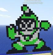 【Minecraft】バブルマン作ってみた【ROCKMAN2】