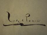 「Love&peace」