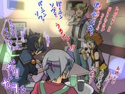 遊戯王5D'sのメンバーもカラオケに行ったようです。