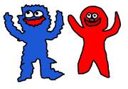 クッキー大好きなモンスターとその仲間