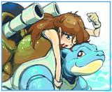 ブルーとカメちゃん