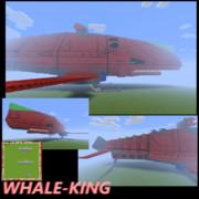 【完成】超弩級多目的輸送艦ホエールキング【二隻配備】
