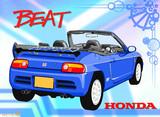【模写】HONDA:BEAT【の尻。】