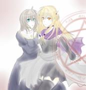 魔女と修道女