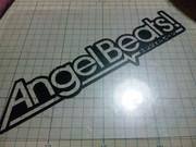 Angel Beats! ロゴステッカー